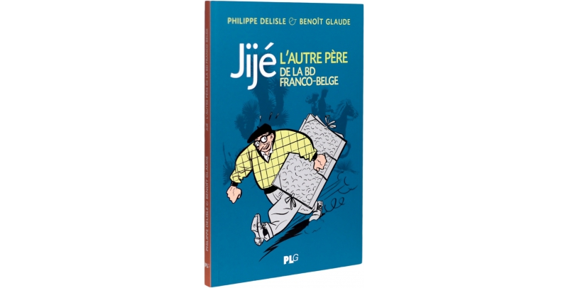 Jijé, l'autre père de la BD franco-belge - Couverture - (c) Stripologie.com