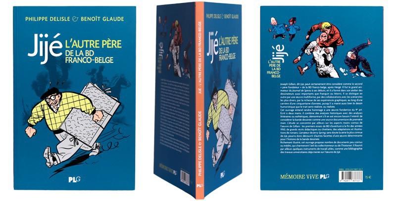 Jijé, l'autre père de la BD franco-belge - Couverture et dos - (c) Stripologie.com