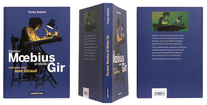 Docteur Mœbius et Mister Gir - Couverture et dos - (c) Stripologie.com