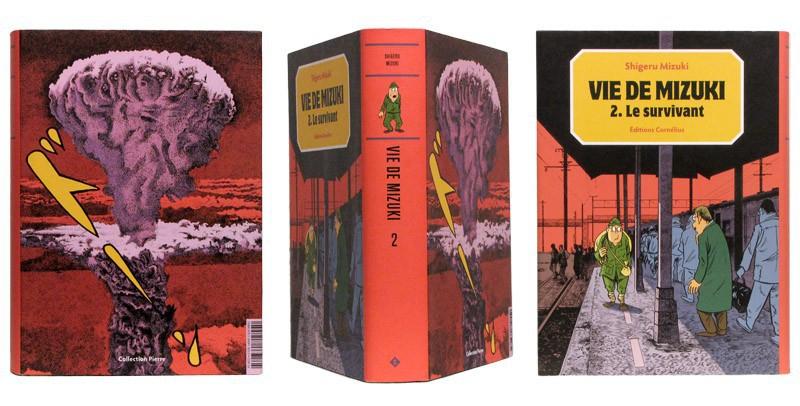 Le survivant (Vie de Mizuki II) - Couverture et dos - (c) Stripologie.com