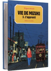 L'apprenti, Vie de Mizuki (3) - Couverture - (c) Stripologie.com