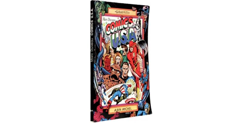 Comics U.S.A - Couverture - (c) Stripologie.com