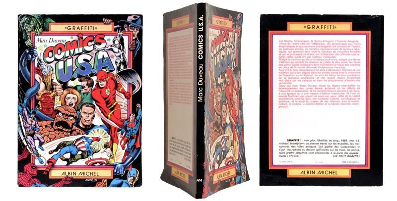 Comics U.S.A - Couverture et dos - (c) Stripologie.com