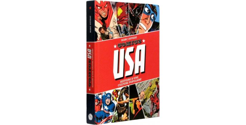 Comics U.S.A. - Couverture - (c) Stripologie.com
