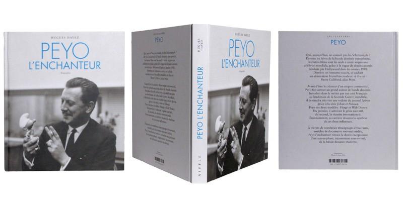 Peyo l'enchanteur - Couverture et dos - (c) Stripologie.com