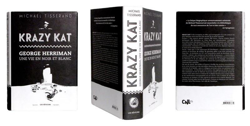 Krazy Kat - George Herriman - Couverture et dos - (c) Stripologie.com