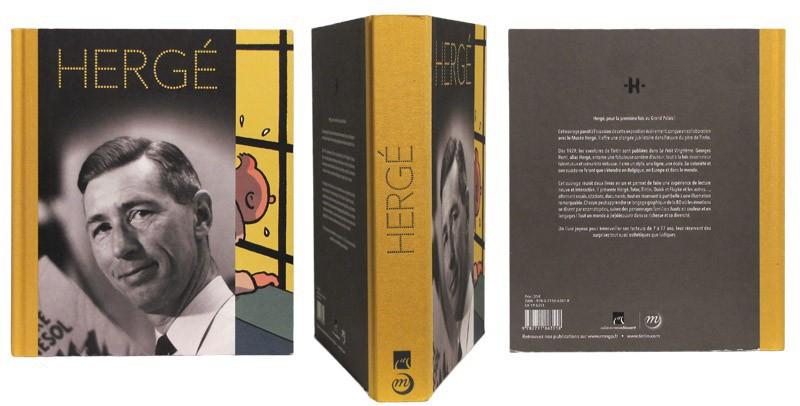 Hergé - Couverture et dos - (c) Stripologie.com