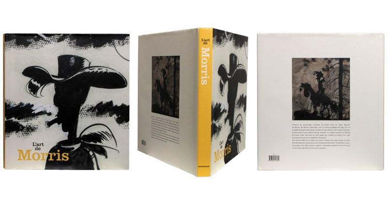 L'art de Morris - Couverture et dos - (c) Stripologie.com