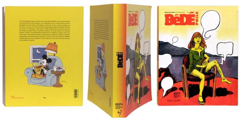 Bédéphile n1 - Couverture et dos - (c) Stripologie.com