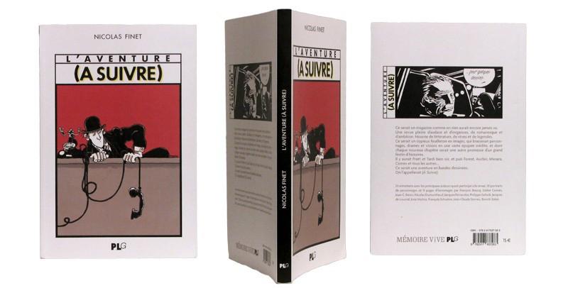 L'Aventure (A Suivre) - Couverture et dos - (c) Stripologie.com