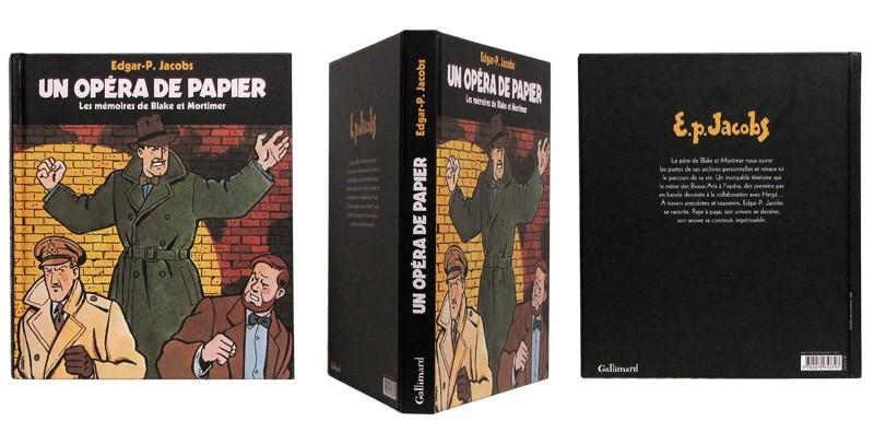 Un opéra de papier - Couverture et dos - (c) Stripologie.com