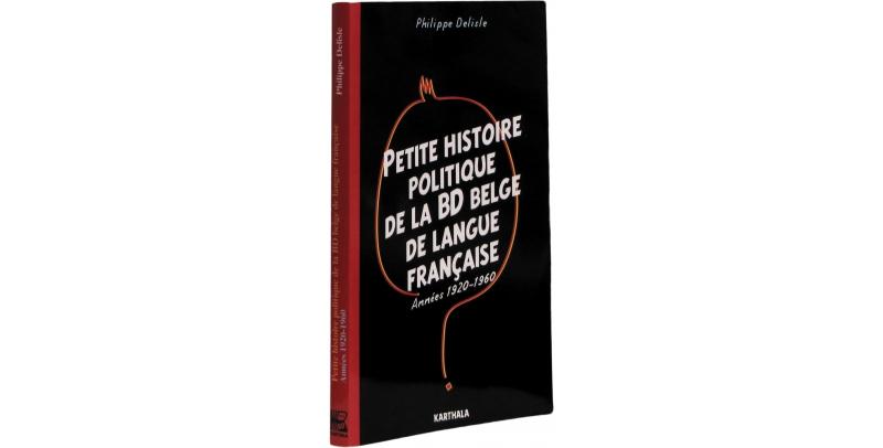 Petite histoire politique de la BD belge de langue française - Couverture - (c) Stripologie.com