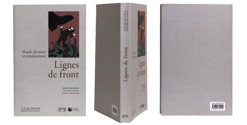 Lignes de fronts - Couverture et dos - (c) Stripologie.com