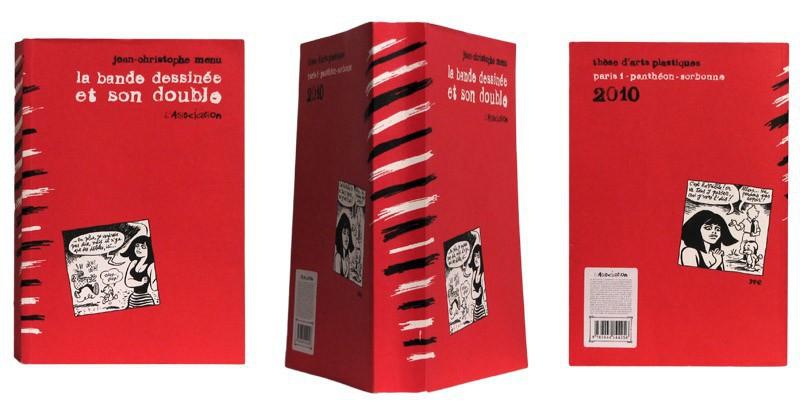 La Bande dessinée et son double - Couverture et dos - (c) Stripologie.com