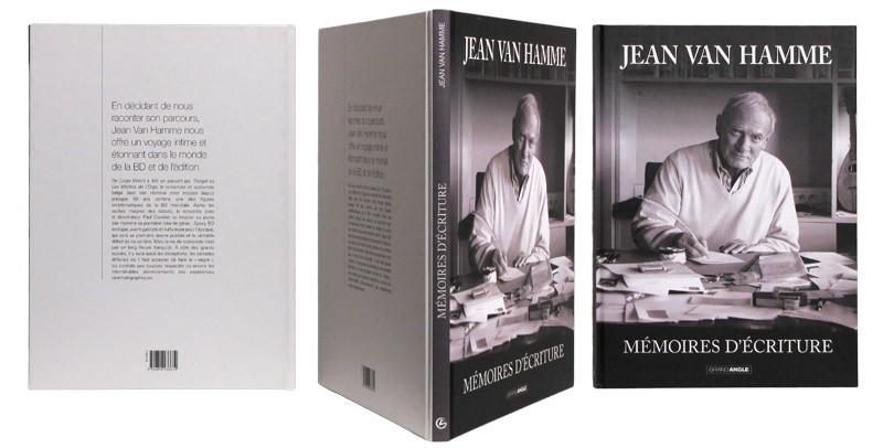 Mémoires d'écriture - Couverture et dos - (c) Stripologie.com