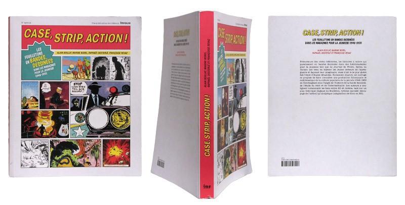 Case, strip, action ! - Couverture et dos - (c) Stripologie.com