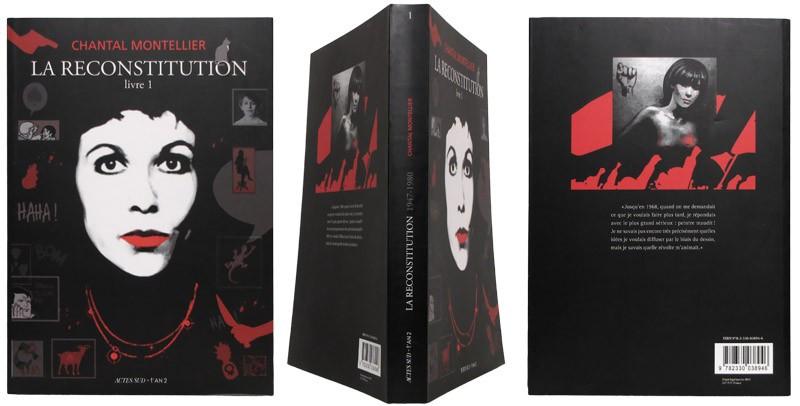 La reconstitution - Couverture et dos - (c) Stripologie.com