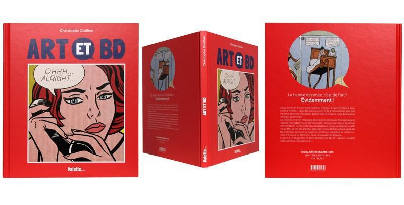 Art et BD - Couverture et dos - (c) Stripologie.com