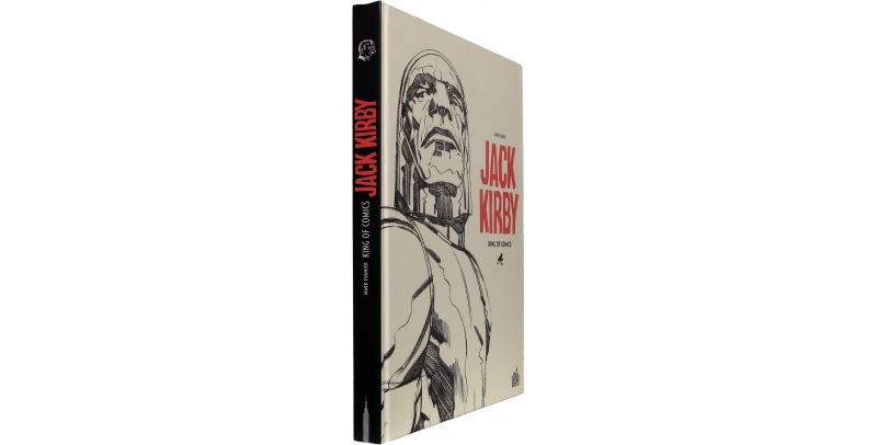 Jack Kirby, king of comics - Couverture - (c) Stripologie.com