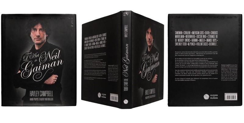 Tout l'art de Neil Gaiman - Couverture et dos - (c) Stripologie.com
