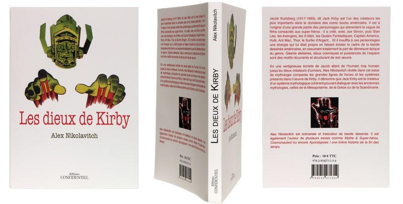 Les dieux de Kirby - Couverture et dos - (c) Stripologie.com