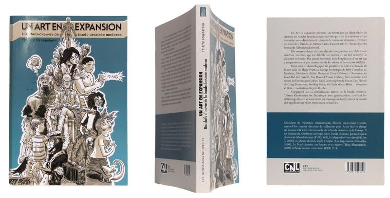Un art en expansion - Couverture et dos - (c) Stripologie.com