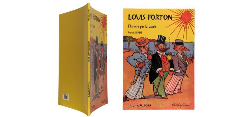 Louis Forton - Couverture et dos - (c) Stripologie.com