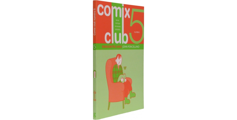 Comix Club n°5 - Couverture - (c) Stripologie.com