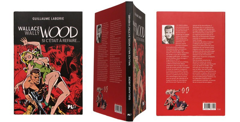 Wallace Wally Wood - Couverture et dos - (c) Stripologie.com