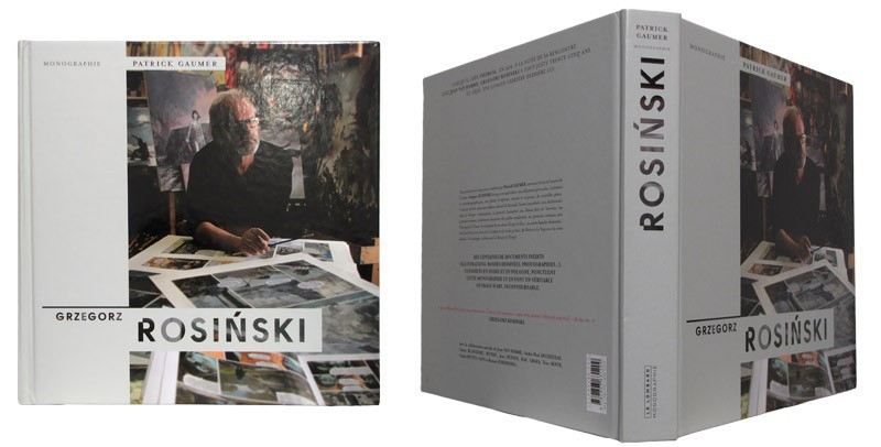 Grzegorz Rosinski - Couverture et dos - (c) Stripologie.com