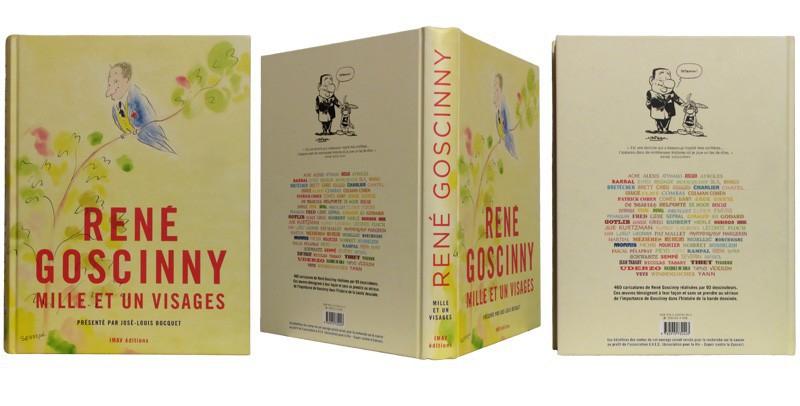 René Goscinny Mille et un visages - Couverture et dos - (c) Stripologie.com