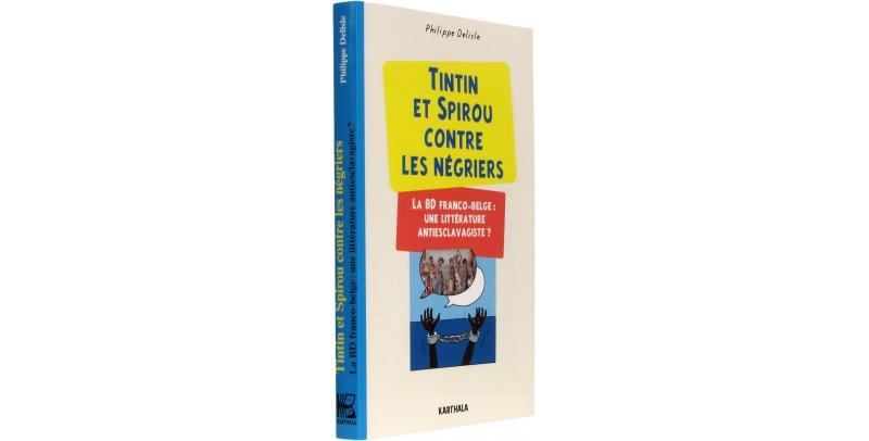 Tintin et Spirou contre les négriers - Couverture - (c) Stripologie.com