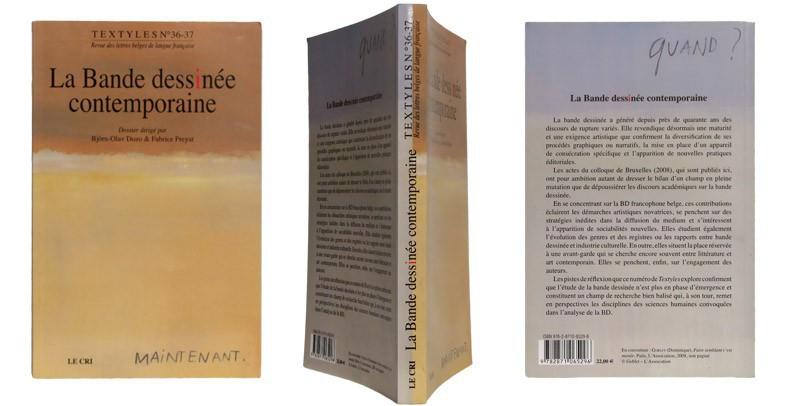 Textyles n° 36-37 - Couverture et dos - (c) Stripologie.com