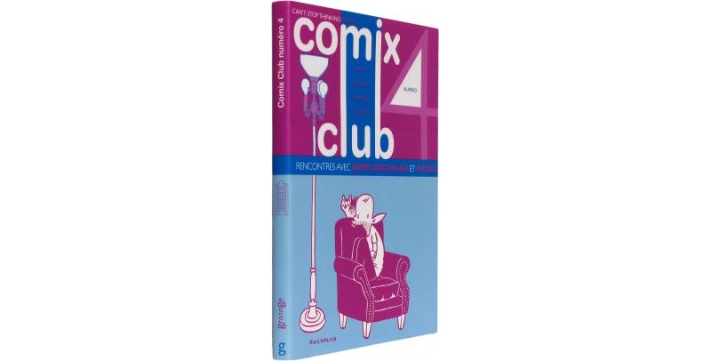 Comix Club n°4 - Couverture - (c) Stripologie.com