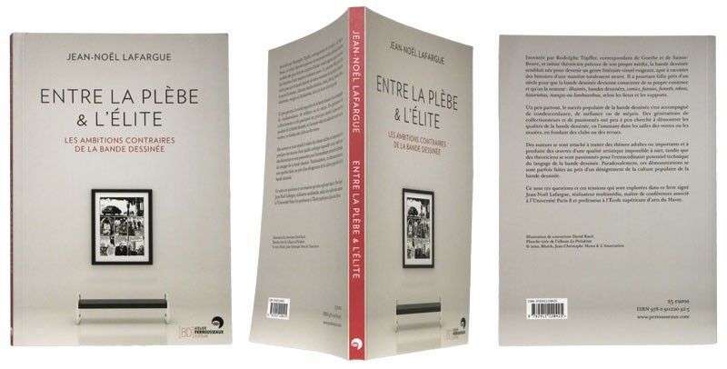Entre la plèbe & l'élite - Couverture et dos - (c) Stripologie.com