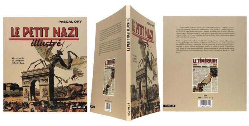 Le petit nazi illustré - Couverture et dos - (c) Stripologie.com