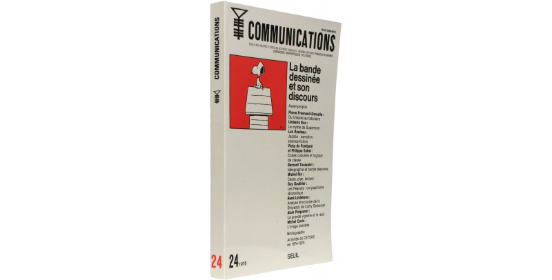 Communications n°24 - Couverture - (c) Stripologie.com