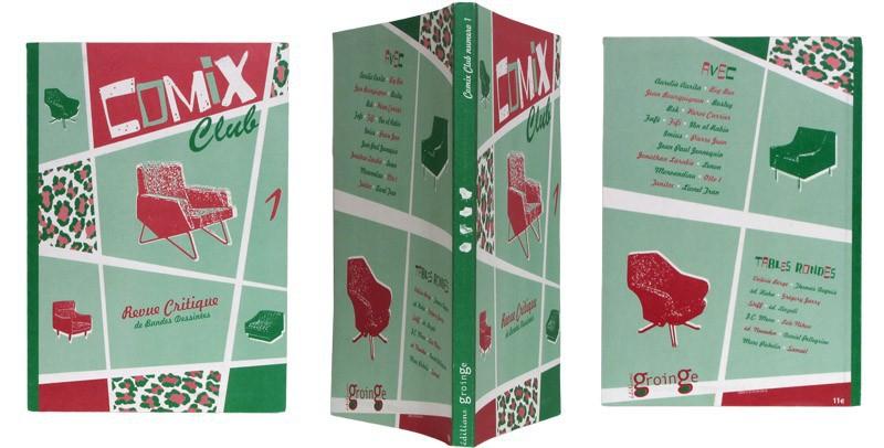 Comix Club n°1 - Couverture et dos - (c) Stripologie.com
