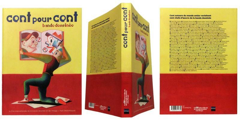 Cent pour cent bande dessinée - Couverture et dos - (c) Stripologie.com