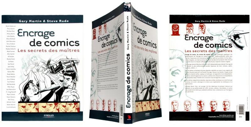 Encrage de comics - Couverture et dos - (c) Stripologie.com