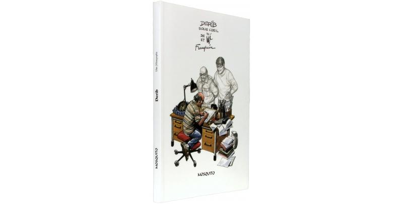 Derib sous l'œil de Jijé et de Franquin - Couverture - (c) Stripologie.com