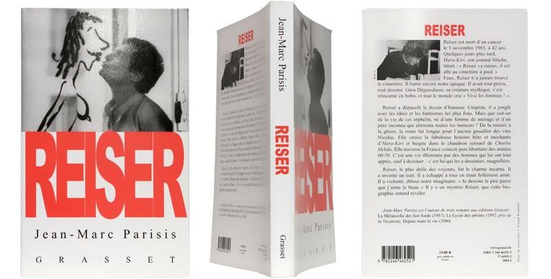 Reiser - Couverture et dos - (c) Stripologie.com