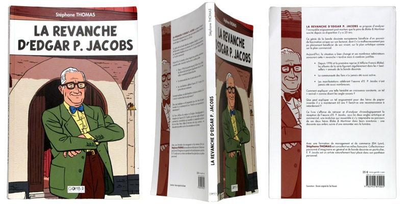 La revanche d'Edgar P. Jacobs - Couverture et dos - (c) Stripologie.com