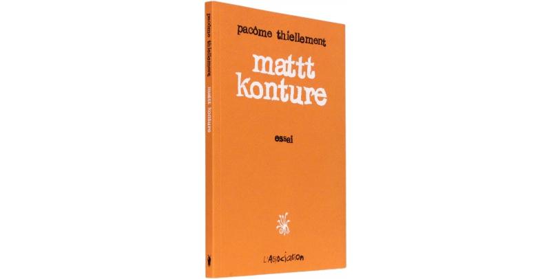 Mattt Konture - Couverture - (c) Stripologie.com