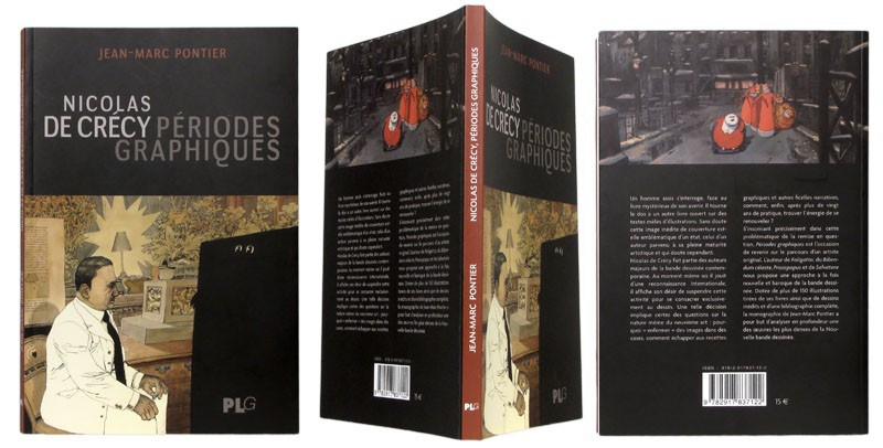 Nicolas de Crécy, Périodes graphiques - Couverture et dos - (c) Stripologie.com