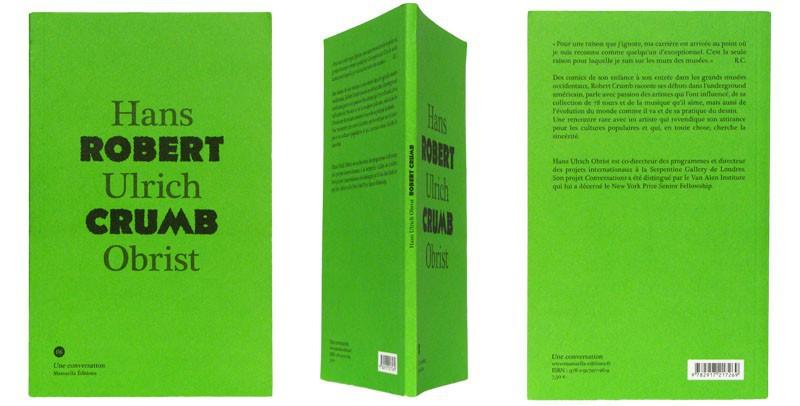 Robert Crumb - Couverture et dos - (c) Stripologie.com