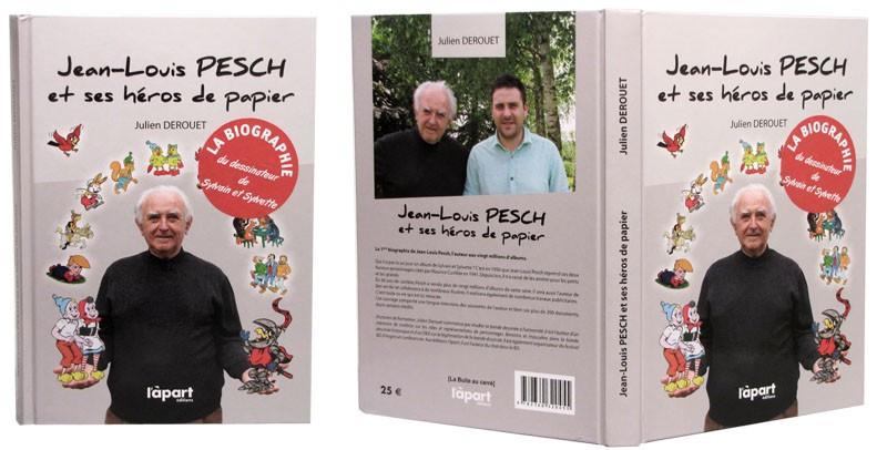 Jean-Louis Pesch et ses héros de papier - Couverture et dos - (c) Stripologie.com
