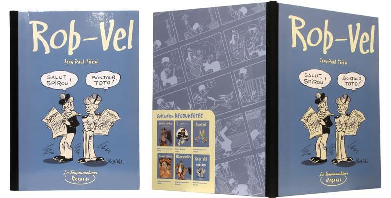Rob-Vel - Couverture et dos - (c) Stripologie.com