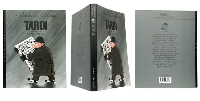 Tardi - Couverture et dos - (c) Stripologie.com