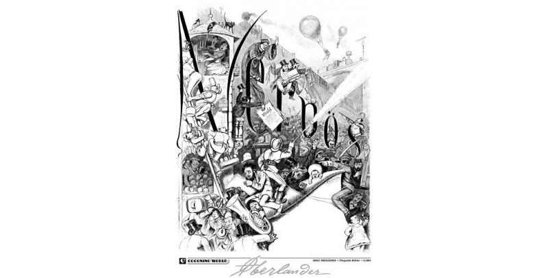 Nervös - Adolf Oberländer - (c) Coconino & Co / Adolf Oberländer / Stripologie.com